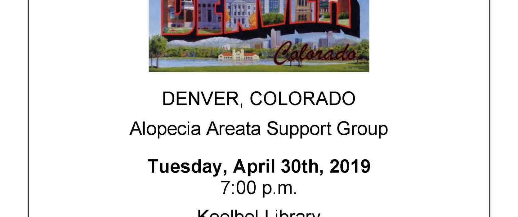 Denver Co Alopecia Areata Support Meeting National